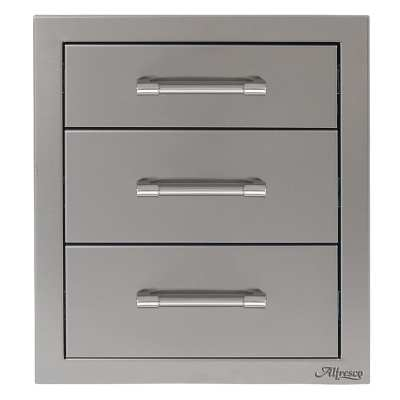 Alfresco 17-Inch Triple Access Drawer