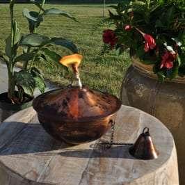 Starlite Patio Maui Grande Copper Burn Tabletop Torch