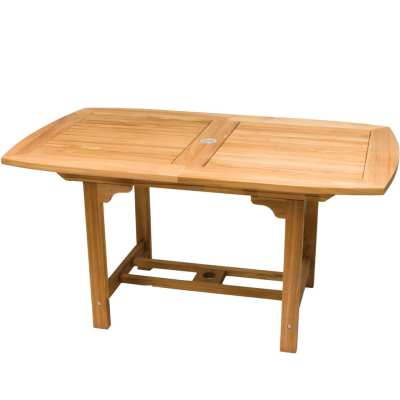 Royal Teak Collection Small Rectangular Family Expansion Table