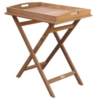 Royal Teak Collection Tray Plus Stand - TRST