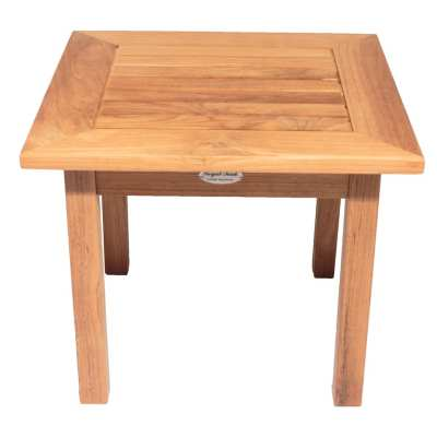 Royal Teak Collection Miami Square Side Table - MIAST