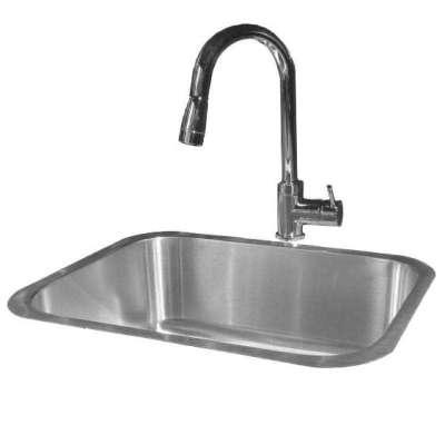 RCS 23 X 18 Undermount Sink Plus Faucet