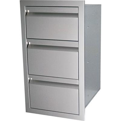 RCS Valiant Series 17-Inch Triple Access Drawer