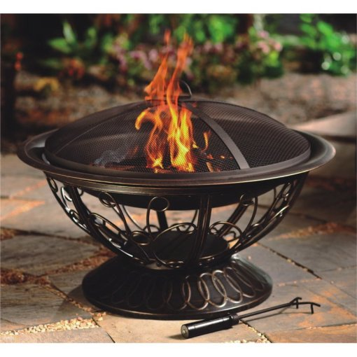 AZ Patio Heaters 30-Inch Wood Burning Fire Pit | The Outdoor Store