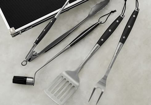 bbq tool sets at the outdoor store