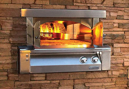 outdoor pizza ovens at the outdoor store