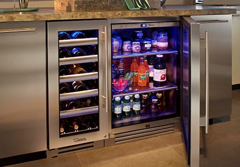outdoor refrigeration at the outdoor store