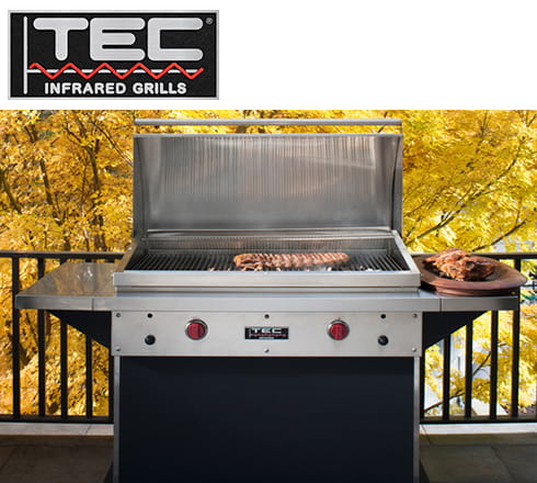 tec infrared gas grills at the outdoor store