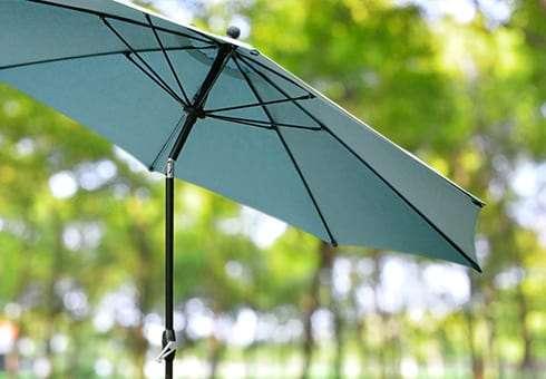 patio umbrellas at the outdoor store