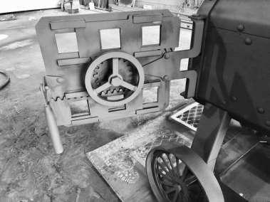 hamrforge the beast fire box door