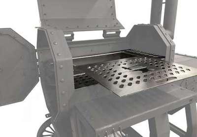 The Hamrforge Beast optional dual sliding out grills. SKU* SB-7000-0