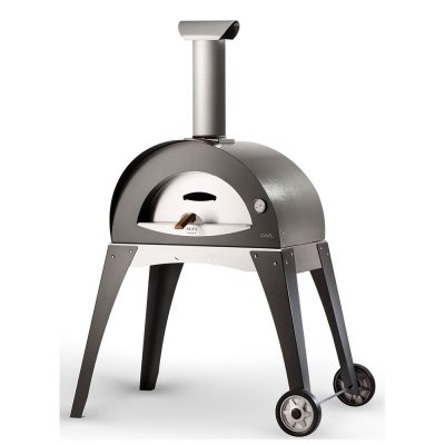 Alfa Ciao Freestanding Pizza Oven with Grey Leg Kit