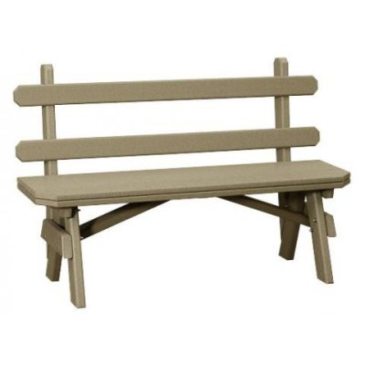 Finch Garden 28-Inch Backed Bench