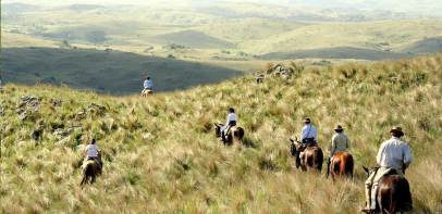Horse ride through the Andean foothills of Cordoba