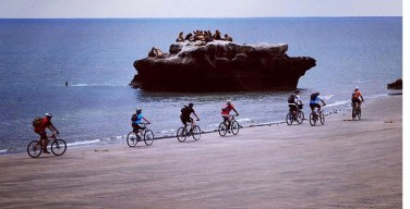 Cycle the coast line