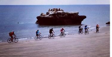 Cycle the coast line