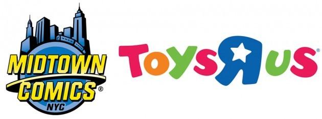 Midtown Comics ToysRUs Logo