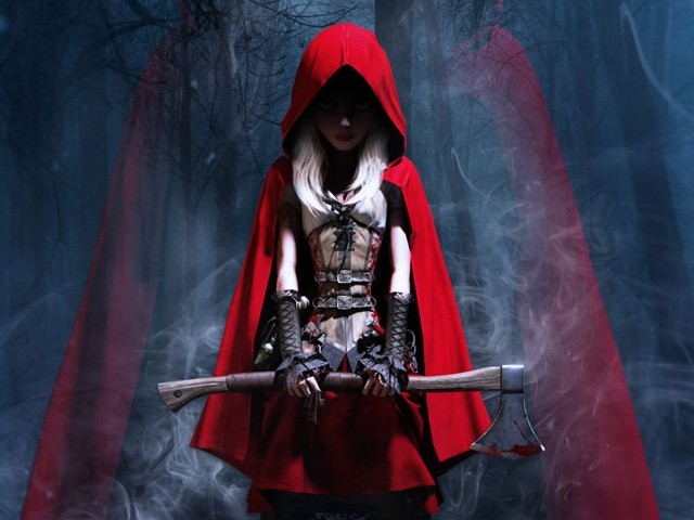 Woolfe, if I was you I'd leave this Lil Red alone. She's got a freaking AXE!