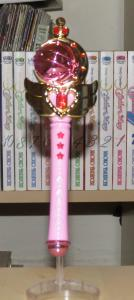 Cutie Moon Rod, image taken with flash