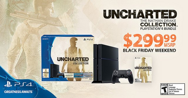 Uncharted The Nathan Drake Collection PS4 bundle