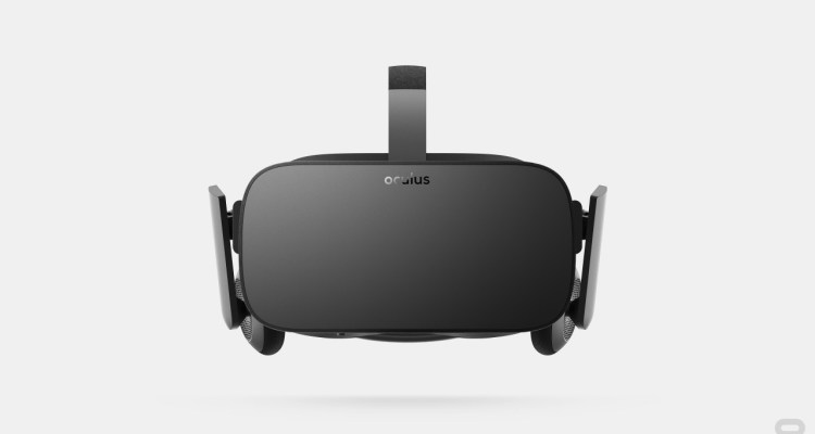 Image of the Facebook Oculus Rift
