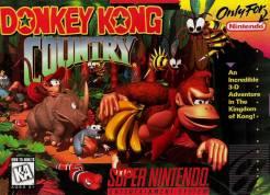 SNES Donkey Kong Country box art
