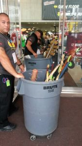 Many cosplayers lost their props forever at NYCC 2014