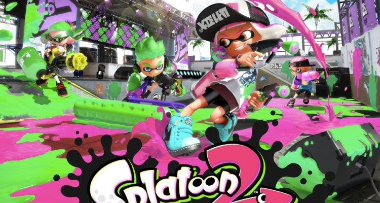Nintendo Switch launch Splatoon 2