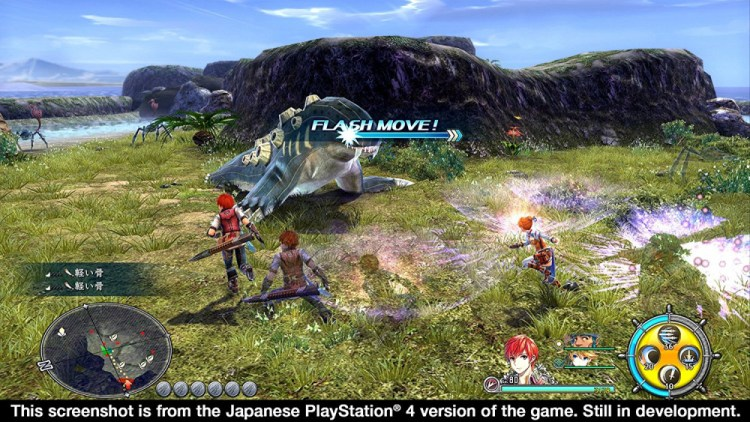 Ys VIII: Lacrimosa of Dana screenshot03