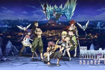 Fairy Tail Dragon Cry - Header