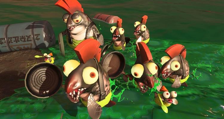 Splatoon 2 Salmon Run
