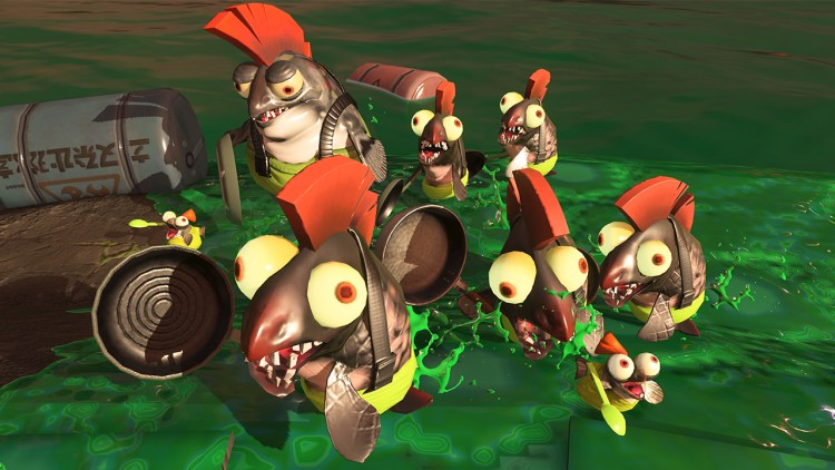 Salmonids Splatoon 2