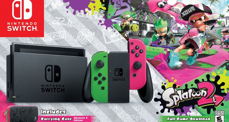 Splatoon 2 Nintendo Switch Bundle - The Outerhaven