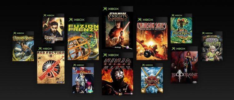 OG Xbox BC Line-up
