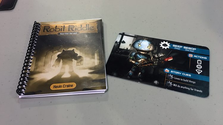 Robit Riddle Book - The Outerhaven
