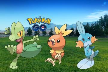 Pokemon Go Gen 3 Starters