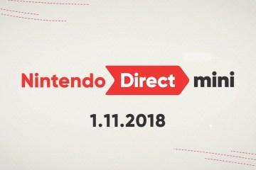 Nintendo Direct Mini 1-11-2018 - The Outerhaven