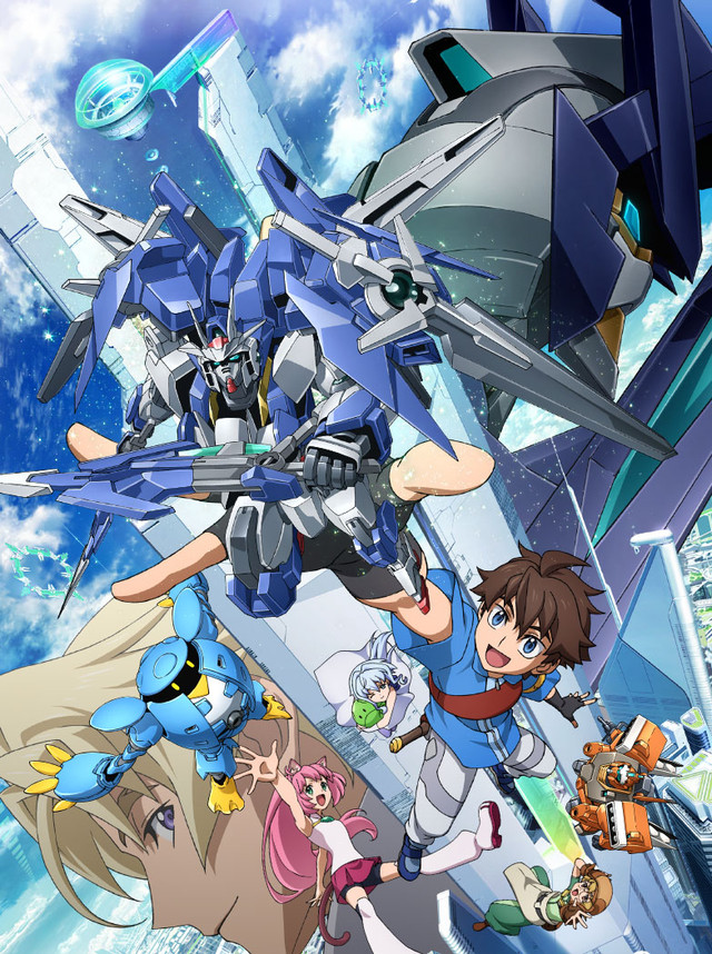 Gundam Build Divers Promo