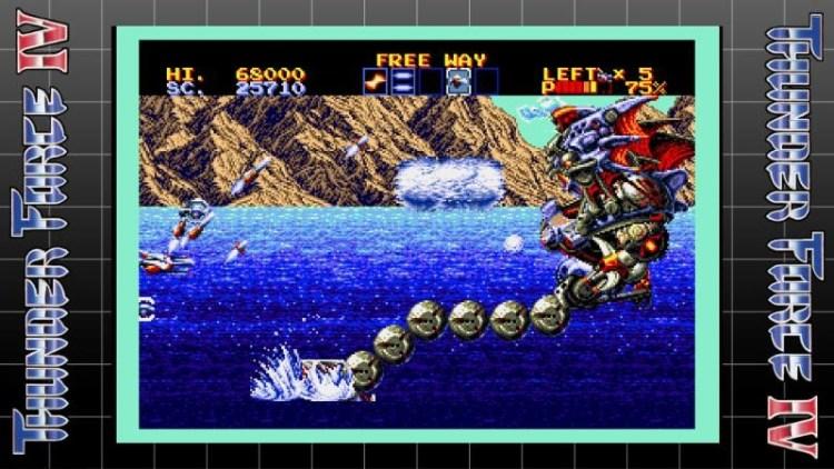 Thunder Force IV - Sega Mega Drive /Sega Genesis