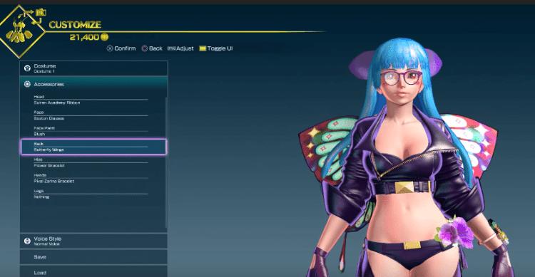 SNK HEROINES customization