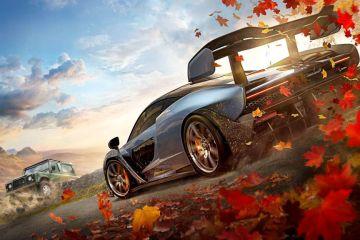 Forza Horizon 4 fall glamour shot