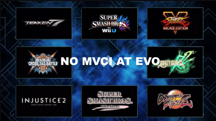 No mvci at evo