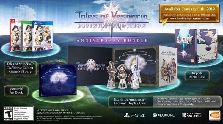 tales of vesperia Anniversary-Bundle