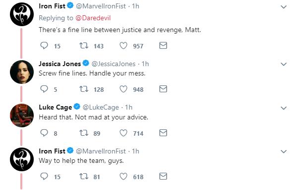 Daredevil season 3 twitter