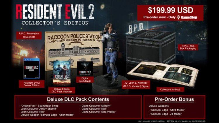Resident Evil 2 Remake CE