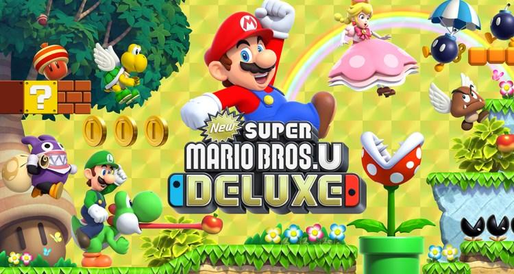 Super Mario Bros. U Deluxe header