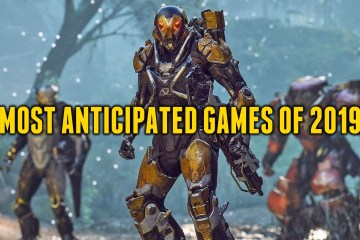 keith mitchell's MOST ANTICIPATED GAMES OF 2019