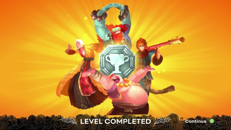 unruly heroes level completed -01