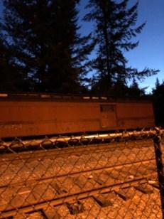 Twin Peaks Murder Train Car