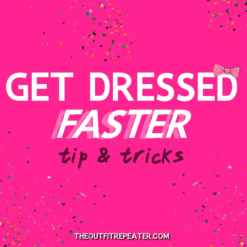 How to wear clothes different ways and get dressed faster fashion style outfit ideas